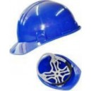 Casco de seguridad clase E dieléctrico color  Azul modelo 600AZ